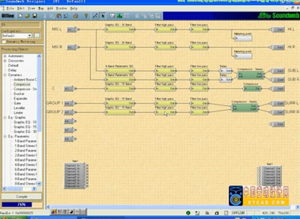 《全球音频处理器教程》4-BSS SW9088