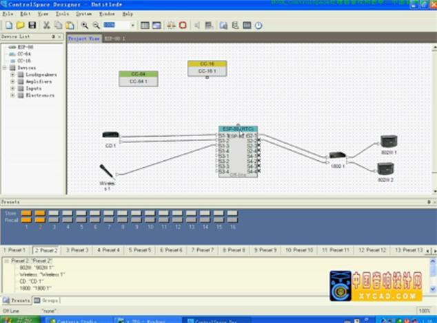 点击观看《《全球音频处理器教程》3-BOSE ControlSpace》