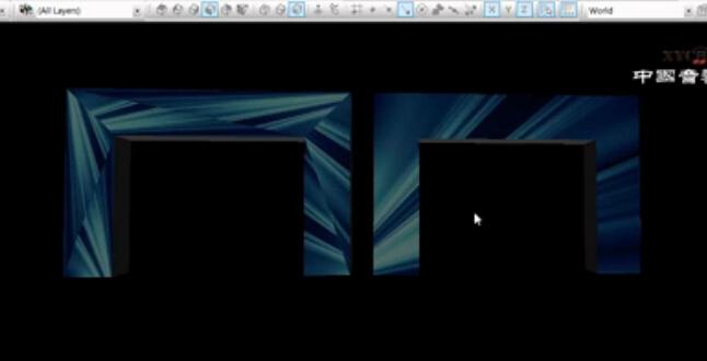 《舞台灯光软件》8_WYSIWYG异形曲面贴图